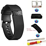 Newest Fitbit Charge HR Band, Sibode Silicone Replacement Small Large Band Bracelet Strap for Fitbit Charge HR Wireless Activity Wristband