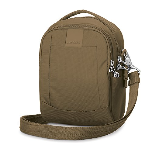 Pacsafe Metrosafe LS100 Anti-Theft Cross-Body Bag, Sandstone
