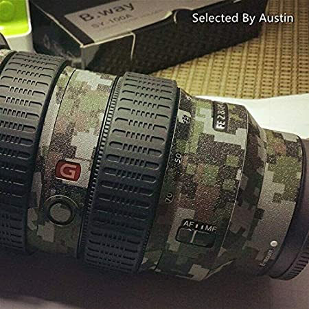 FE 12-24mm F4 G RAYANSPHOTO Lens Guard Skins Wrap Cover Decal Protector Wear Case for Sony Zoom Lenses Series Pattern Camouflage