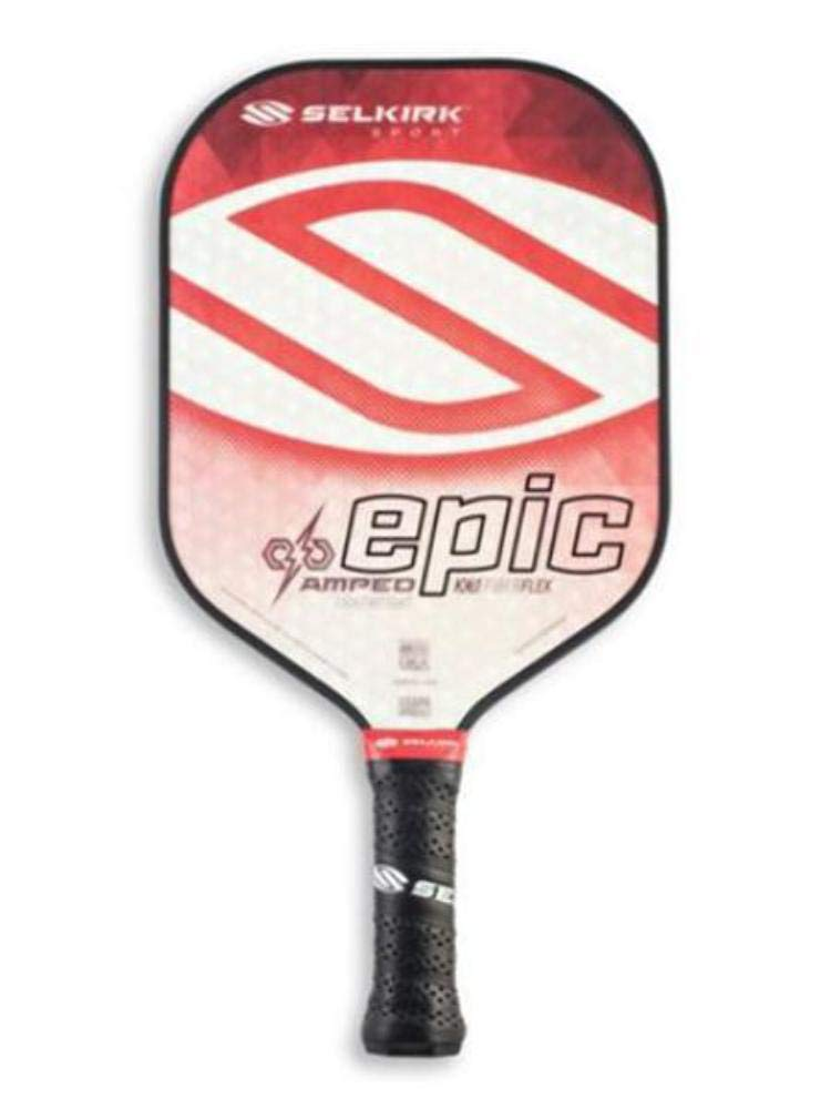 Selkirk Amped Lightweight Epic Pickleball Paddle (Red)