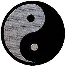 Yin Ying Yang Shadow & Light Taoism Iron on Patch