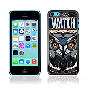 linJUN FENGDesigner Depo Hard Protection Case for Apple iphone 4/4s / Awesome OWL Pattern Tattoo