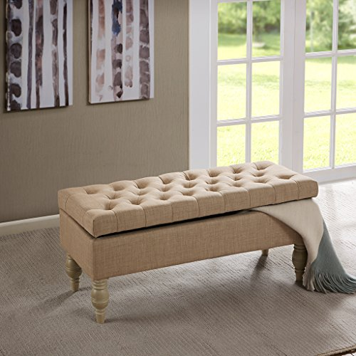 Madison Park FPF18-0261 Luxe Bench by Madison Park
