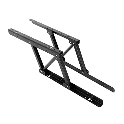 1Pair Multi Functional Lift Up Top Coffee Table Lifting Frame Furniture  Mechanism Fitting Spring Hinge