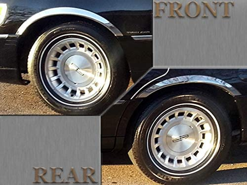 ICI OLD-004 Polished Stainless Steel Fender Trim