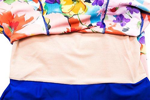 02fc6cbd5f92a Wantdo Women's Swimsuit Swimwear Bathing Suit Orangeflower US 4-6 ...