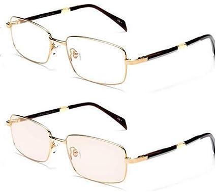 7478a1d389 KOMNY Gafas de Lectura BLU-Ray Cambio de Color inteligenteAnti-BLU-Ray Gafas