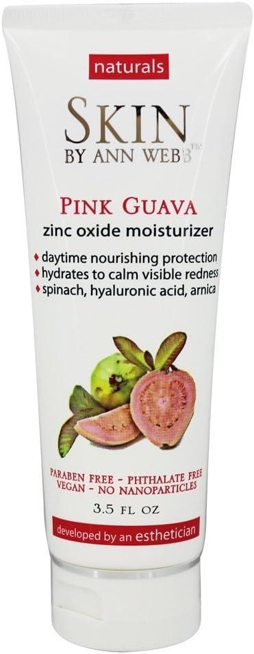 Pink Guava Zinc Oxide Day Cream Skin by Ann Webb 3.5 oz Cream