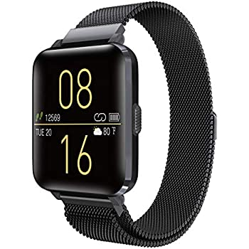 Kalakate Smart Watch for Men Women, IP68 Waterproof Smartwatch Android iOS Compatible, Fitness Tracker with Steps Sleep Heart Rate Blood Pressure ...