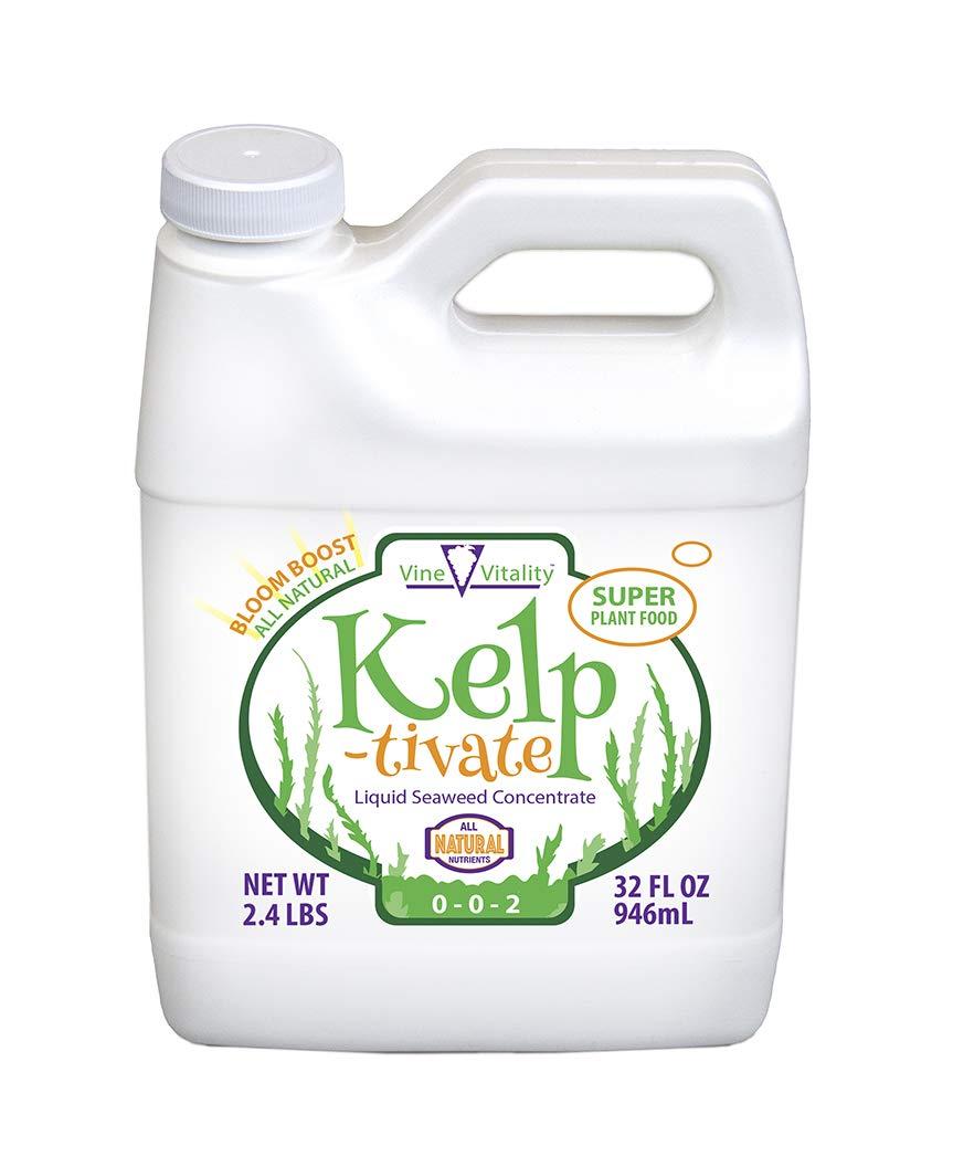 Kelp-tivate Liquid Seaweed Concentrate, Super Plant Food, 32oz. (Quart)