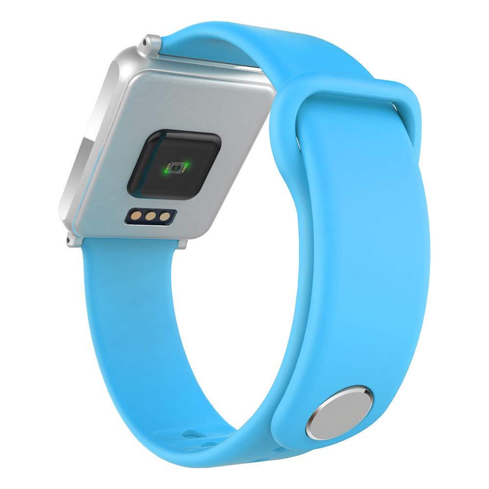 Cebbay Reloj Inteligente Pulsómetro Impermeable IP68 Reloj Inteligente con Cronómetro Reloj de Fitness con Podómetro Cronómetros: Amazon.es: Electrónica