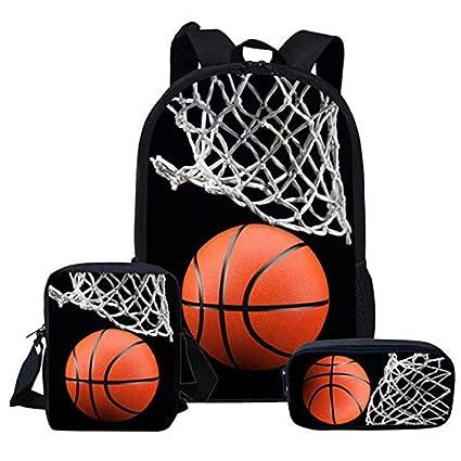 XTYZY Mochila Escolar Baloncesto Juventud Mochila Para ...