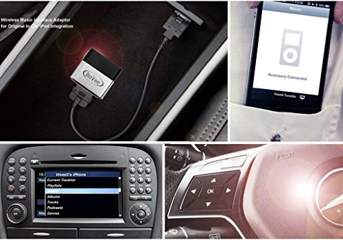 Bovee 1000 with iPod Integration Cable AMI/MMI for Audi, Volkswagen, Mercedes Wireless Bluetooth Car Kit for in car iPod Integration by Bovee (Image #1)