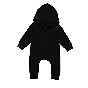 83bfc1027db Jshuang Newborn Baby Girls Boys Cotton Solid Color Single-Breasted Hooded  Robes