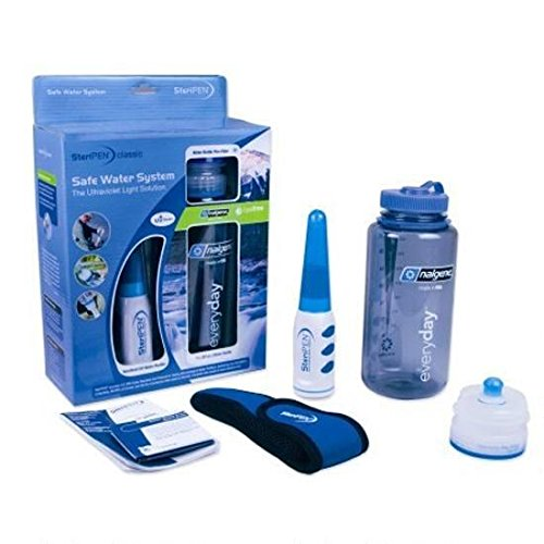 SteriPen Classic 3 UV Water Purifier and 40 micron Pre-Filter bundle. by SteriPen