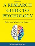 A Research Guide to Psychology: Print and