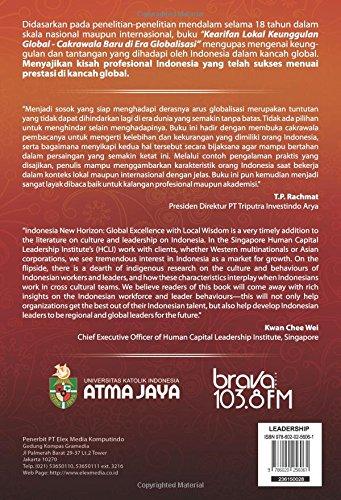 Kearifan Lokal Keunggulan Global (Indonesian Edition): Hana Panggabean: 9786020256061: Amazon.com: Books