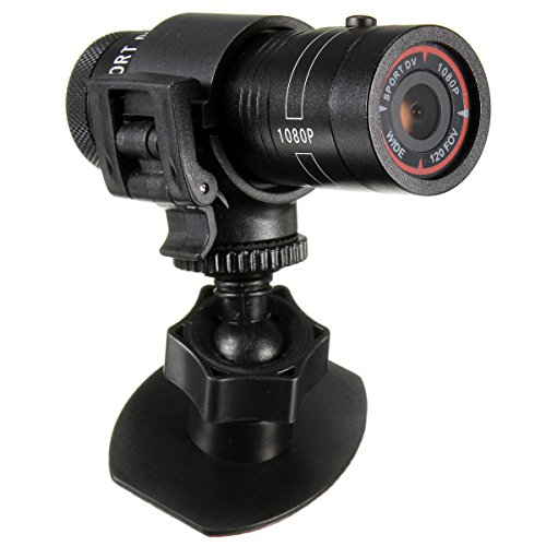 HD 1080P Waterproof Round Sports Action Camera DV Cam Recorder for Helmet Motorcycle Bike Car DVR SZPYSJTC