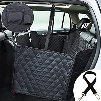kingstar dog car seat cover for petswaterproof pet seat cover hammock nonslip pets car back seat covers dog cat car protector hammocks for trucks suv     amazon     lantoo dog seat cover large back seat pet seat cover      rh   amazon