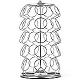 keurig coffee lazy susan - Sorbus Coffee Pod 35 cup capacity Storage Spinning Carousel