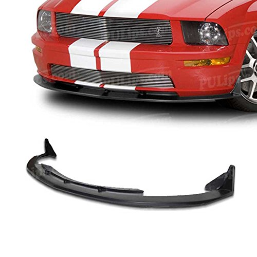 PULips(FDMU05V8CV3FAD) GT500 Style Front Chin Spoiler For Ford Mustang GT 2005-2009