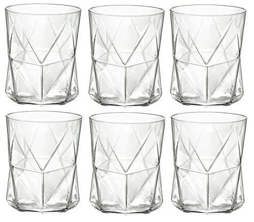 Cheap Bormioli Rocco Cassiopea Tumbler Glasses – 410ml (13.75oz) – Set of 6