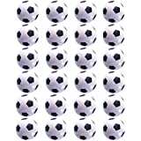 24 Counts Mini Soccer Football Stress Ball, Mini Foam Squeeze Sports Ball Toys for Kids Fun Party Favors by MOMOONNON