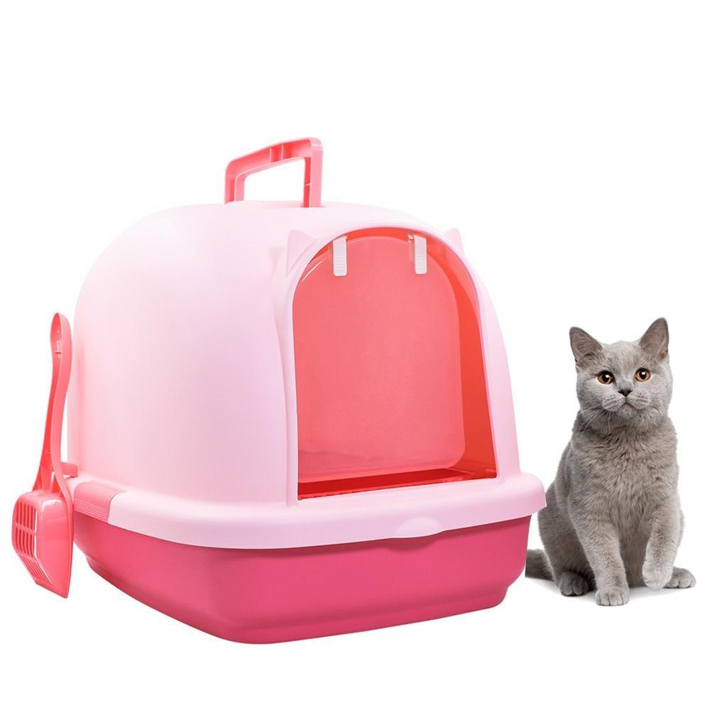 AOLVO - Arenero para Gatos con Tapa, con Capucha, con arenero a Juego, tamaño Extra Grande: Amazon.es: Productos para mascotas