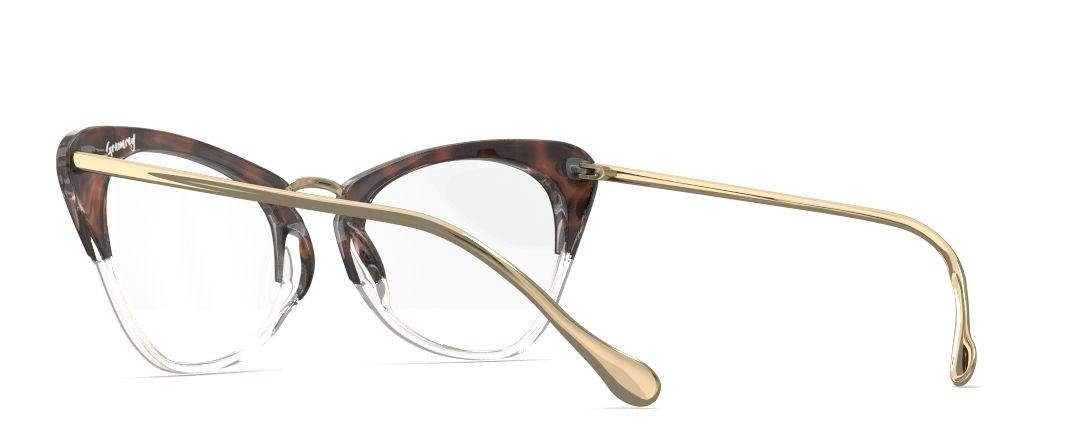 370c7eee12b8b Amazon.com  Elizabeth and James EJO1301 GRAMERCY Tortoise and Clear  Eyeglasses in size 49mm  Beauty