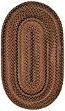 Capel Rugs Manchester Oval Braided Area Rug, 8 x 11″, Brown Hues Review