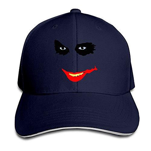 Joker DC Comics Supervillain Red Hood Adjustable Unisex Hats Visor Hats Sanwich Bill Caps (Dc Comics Red Hood Hat)