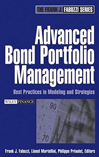 Advanced Bond Portfolio Management by Frank J Fabozzi