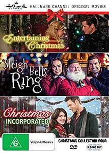 Amazon.com: Hallmark Christmas 3 Film Collection (Entertaining Christmas/Sleigh Bells Ring ...