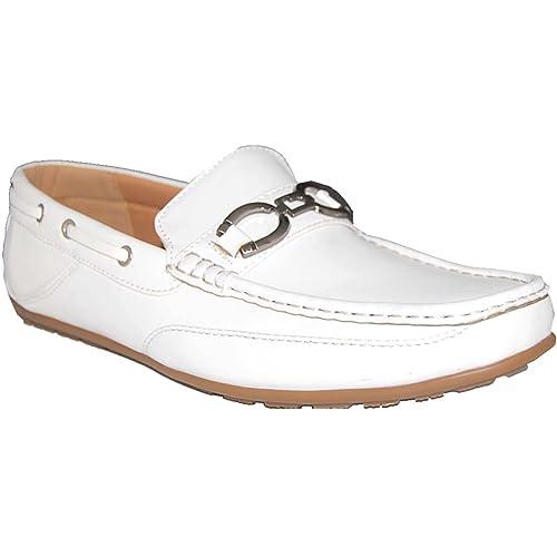 Amazon.com: Krazy artistas WOW en color blanco de zapato de ...