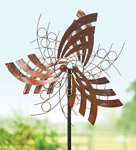 Plow & Hearth Angel Wings Garden Wind Spinner