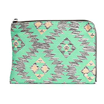 deux lux Bag For Women,Green - Clutches