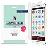 iLLumiShield - Motorola Moto X Pure Edition / Style Screen Protector / Anti-Glare (Matte) HD Clear Film / Anti-Bubble & Anti-Fingerprint / Japanese Invisible Shield + Lifetime Warranty - [3-Pack]