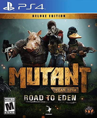 Mutant Year Zero: Road to Eden Deluxe Edition (PS4) - PlayStation 4