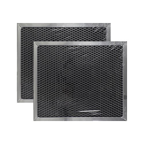 2 PACK Air Filter Factory 9 x 10-1/2 x 3/8 Range Hood Charcoal Carbon Filters AFF110-CH by Air Filter Factory