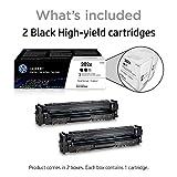 HP 202X | CF500XD | 2 Toner Cartridges | Works with