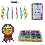 BEST VALUE !!! 185 PCS Insulated Heat Shrink Butt Connectors Kit| Waterproof ...