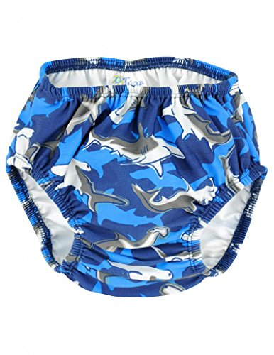 Tuga Boy's Reusable Swim Diapers (UPF 50+)