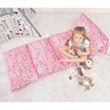 Ohnanana Kids Floor Pillow Bed Cover, Soft Plush,Perfect for Sleepovers Party,Lounger for Reading,Playing, Chair,Bean Bag.Cover Only (Unicorn)
