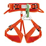 Petzl, Imbragatura da arrampicata Bambino Macchu, Arancione...