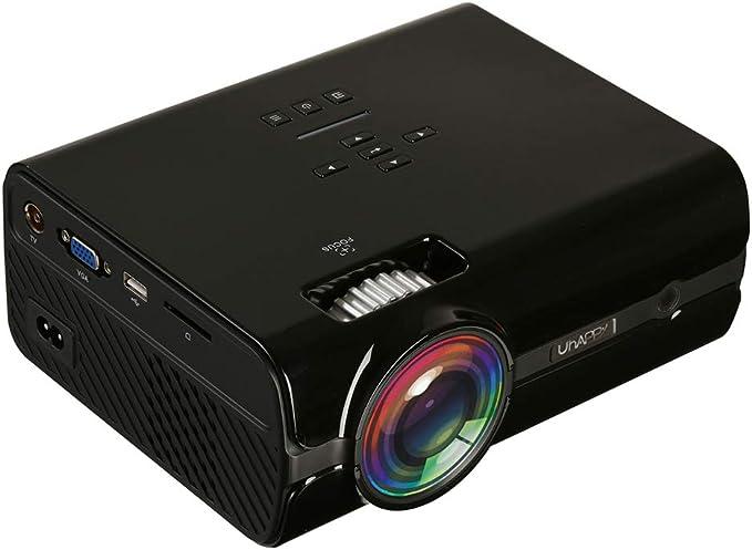 LaDicha Uhappy U45 LCD Proyector Led 2000 Lúmenes 800 X 480 ...