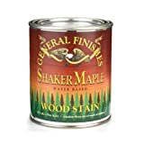 General Finishes Water Based Stain Shaker Maple Gallon