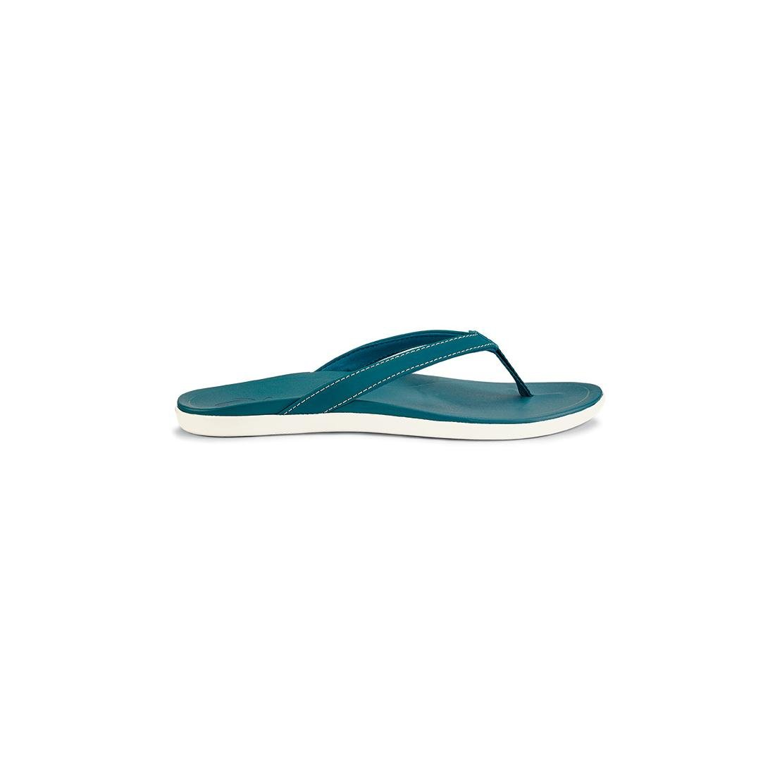 Teal Teal OluKai Ho'opio Leather Sandal - Women's