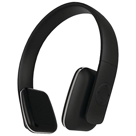 35b36743563 Leme EB20A Wireless Ergonomic Bluetooth 4.0 Over Ear Headphone with  Built-in Mic and 12