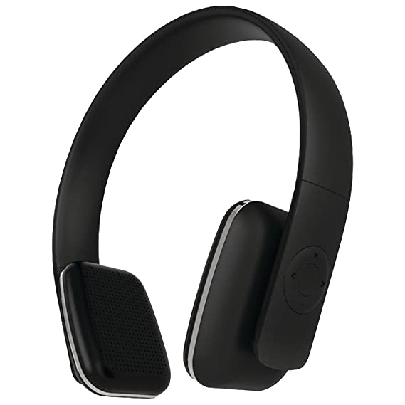 c1019cc89c7 Leme EB20A Wireless Ergonomic Bluetooth 4.0 Over Ear Headphone with Built-in  Mic and 12