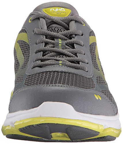 Ryka Grey Women's Cross Devotion Trainer Lime XT White qfXqr